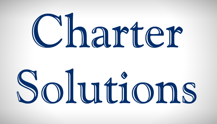 Charter Solutions text logo
